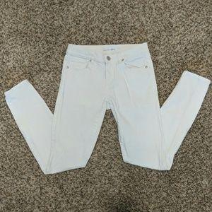 LOFT White Modern Skinny Jeans